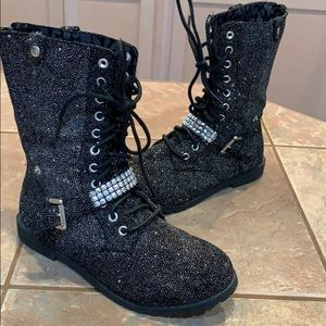 Justice cute fashion winter boots girls